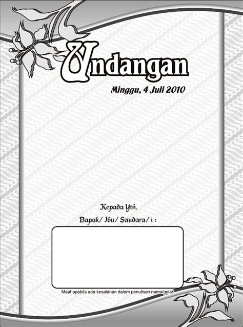 download template undangan pernikahan islami free download motif islami cdr joy studio design gallery