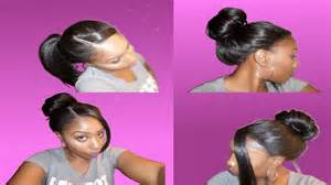 can u wear use hair up with a non layered bob how to style a lace wig updo ponytail bun 5 effortless