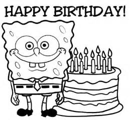 happy birthday coloring cards happy birthday colouring page with regard to the