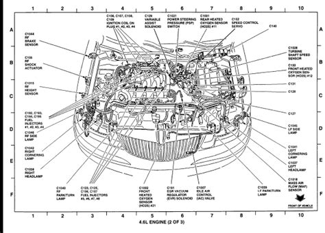 service manual 1999 lincoln continental engine diagram or