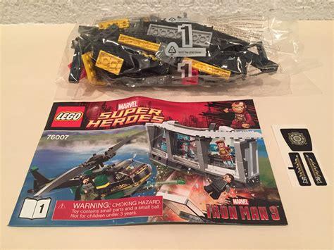 Lego 76007 Iron Malibu Mansion Attack lego 76007 marvel heroes iron malibu mansion attack helicopter only by the brick