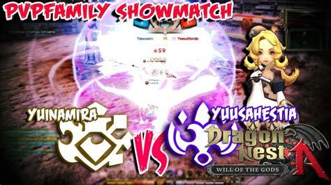fb dn ina dragon nest ina pvpfamily showmatch adept yuinamira vs