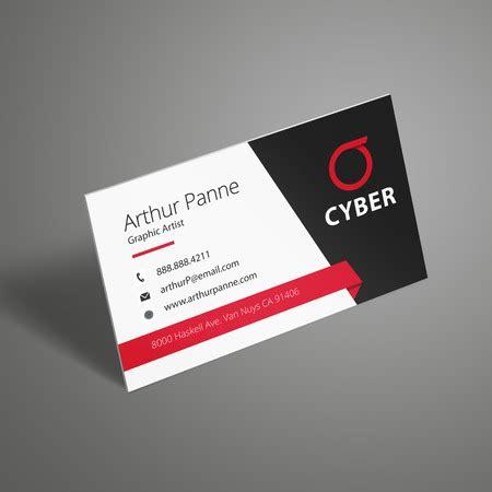 Standard Business Card Printing