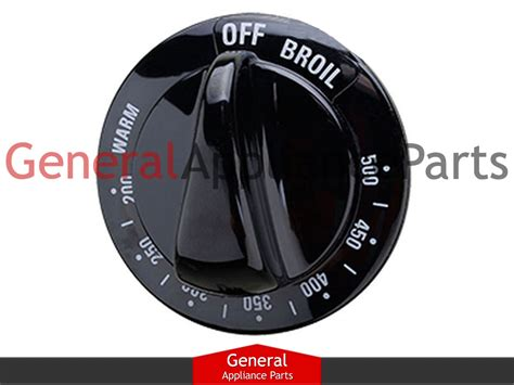Ge Stove Knobs by General Electric Ge Stove Range Knob Thermostate Black