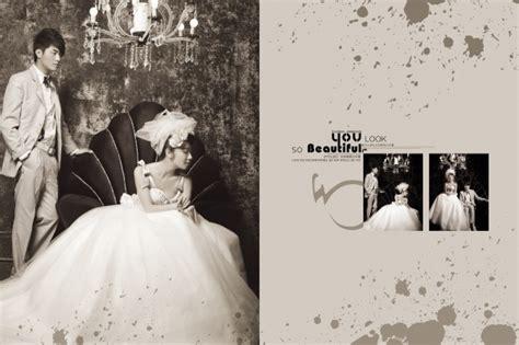 retro wedding photography templates psd free download