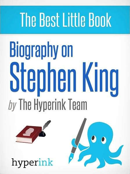 biography book on stephen king biography of stephen king by elise o nook book ebook