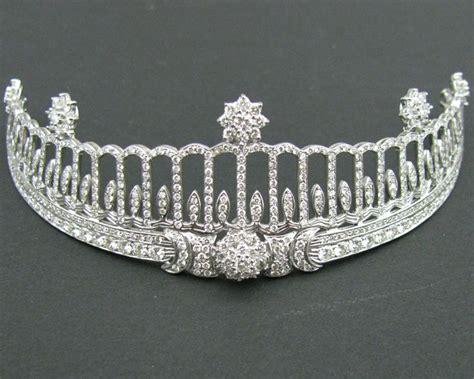 26 Princess Grad Tiara baden tiara germany made by cartier diamonds once belonged to princess hilda of nassau