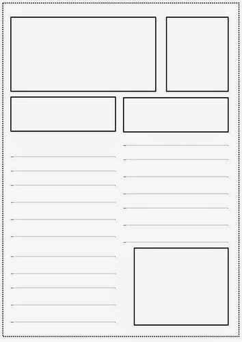 news report template ks2 newspaper article templates by jesspon teaching