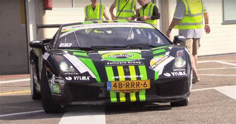 lamborghini rally car dutch lamborghini gallardo rally car is surreal motoring
