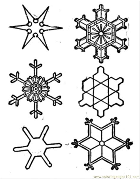 free printable snowflakes to color snowflake coloring sheet new calendar template site