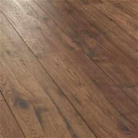 Distressed Wood Flooring Home Depot - home decorators collection distressed brown hickory 12 mm