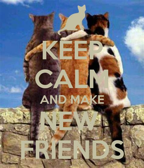 Dustin Makes New Friends by Keep Calm And Make New Friends Poster Rhiannon Keep