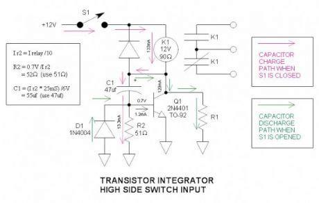 relay economy resistor index 5 circuit circuit diagram seekic