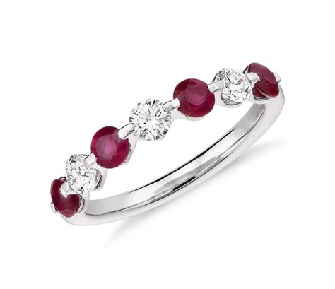 Ruby Ring by Classic Floating Ruby And Ring In Platinum 3 8 Ct