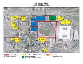 comerica park information gate security detroit tigers