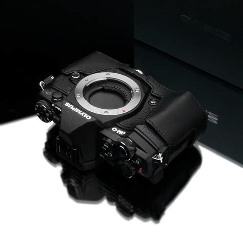 Gariz Half Olympus Xs Em5iiabr gariz leather half for olympus e m5 ii black
