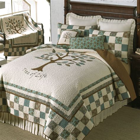 donna sharp bedding vintage tree of life quilt by donna sharp