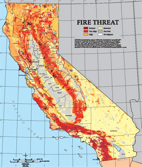 map of california fires california map california map