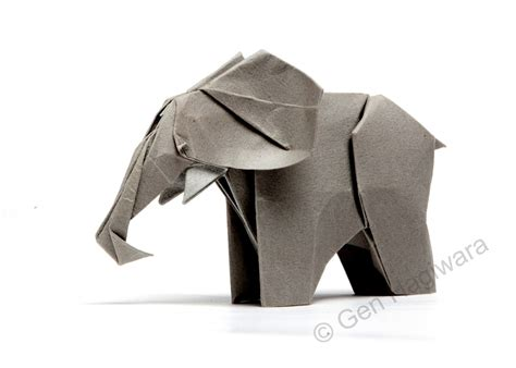 Elefant Origami - 31 origami elephants to fold for the elephantorigamichallenge