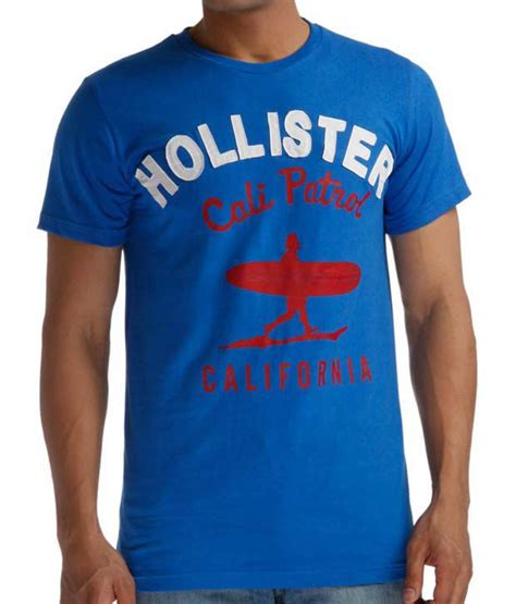 Tshirt Kaos Big Size Hoollister So Cal hollister blue california t shirt buy hollister blue california t shirt at low price