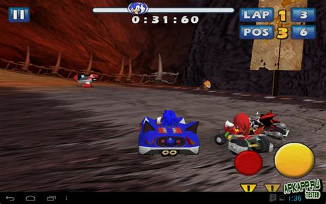 sonic and sega all racing apk free sonic sega all racing apk sonic sega all racing для андроид скачать игры скачать