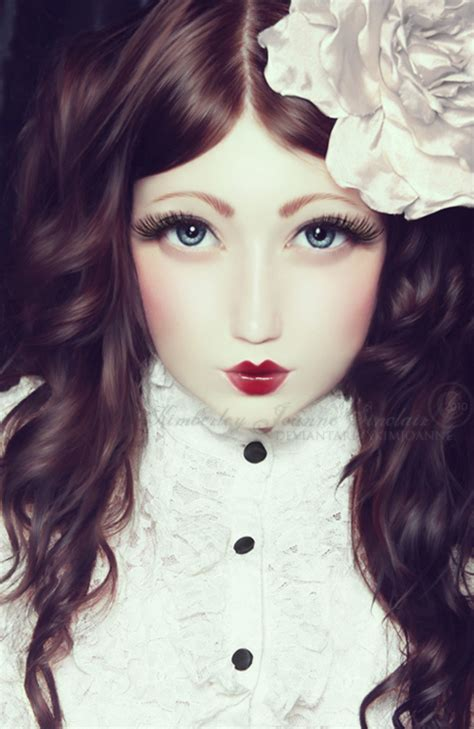 porcelain doll with glasses glass and porcelain skin by xkimjoanne on deviantart