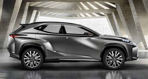 lexus nx suv previewed  radical concept