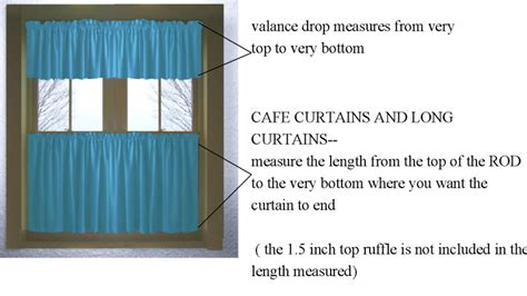 how to hang cafe curtains measure for cafe curtains curtain menzilperde net