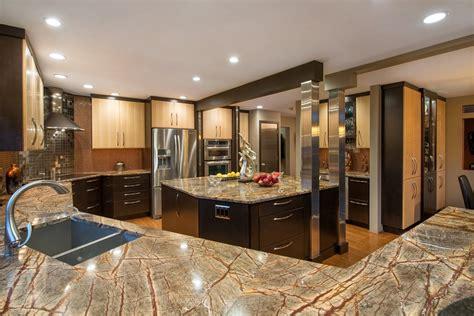 Dark Wood Kitchen Cabinets Luxury Kitchens Dream Kitchens