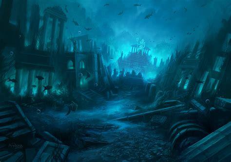 Bahamas Lost In The Light Fantasy Lost City Underwater Cities Digital