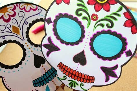 decorar una calavera de papel una mexicana en usa m 225 scara de calaveras de az 250 car para