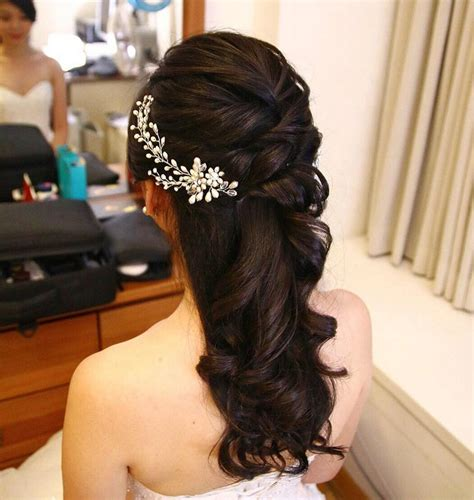 long hair partial updo styles for women 11 gorgeous half up half down hairstyles