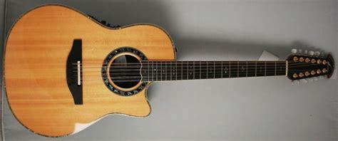 Handmade Acoustic Guitars Usa - ovation c2059ax 4 12 string custom legend