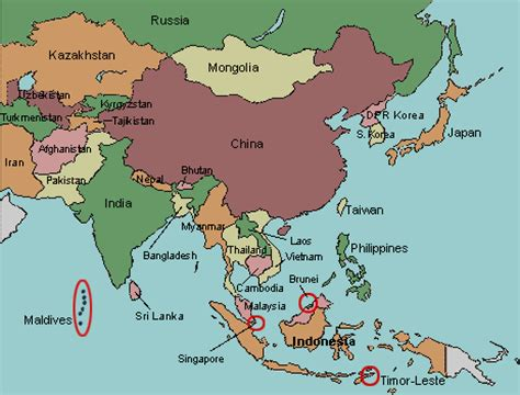 asia map practice test your geography knowledge asia countries quiz
