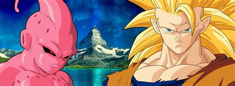 imagenes de goku vs kid buu son goku ssj3 and kid buu by mrgekon on deviantart