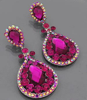 fuschia chandelier earrings fuschia chandelier earrings fuschia pinterest