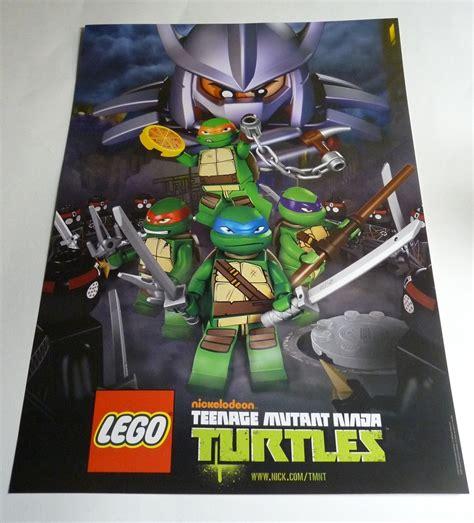 Sale Lego 79118 Karai Bike Escape Bsk342 mutant turtles poster brickipedia the