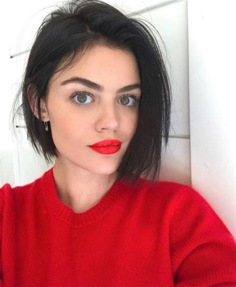 lucy hale short hair bob best 20 lucy hale hairstyles ideas on pinterest lucy
