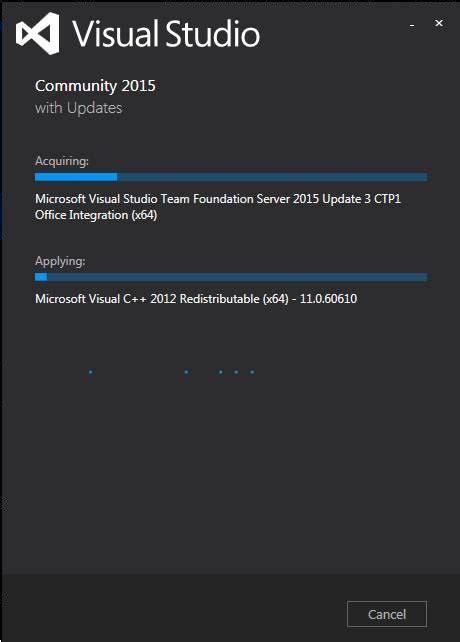 installing visual studio 2015 msdnmicrosoftcom installation steps for visual studio community edition