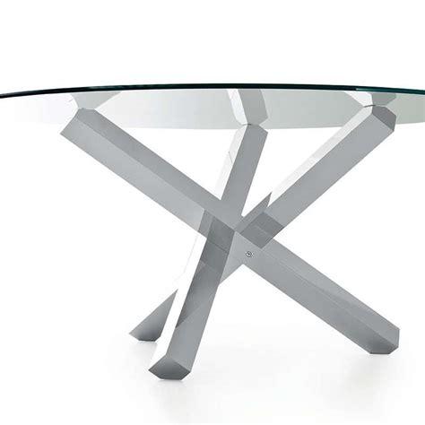 Superbe Table Salle A Manger Ronde En Verre #2: table-verre-design-ronde-aikido-sovet.jpg