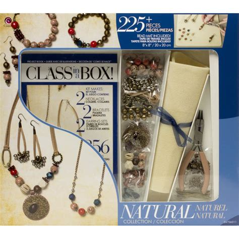 jewelry kit for jewelry class in a box kit for beginners