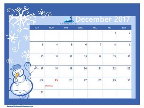 Calendar 2017 December Printable Pdf December 2017 Calendar Printable Template Usa Uk Canada