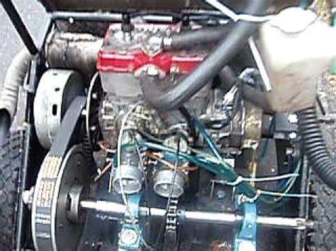 raging go kart testing