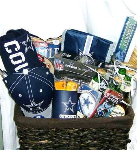 fathers day sports baskets by starrsessentials on etsy