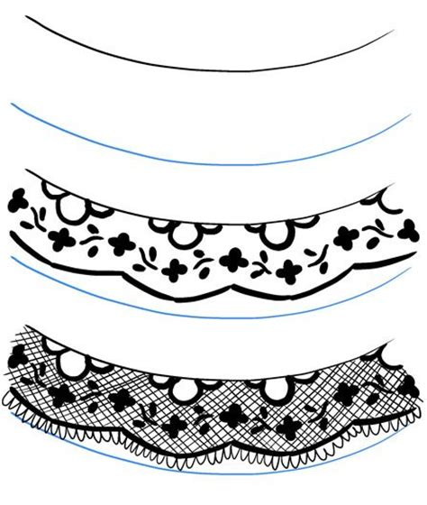 lace pattern sketch textures 03 lace can i draw this pinterest posts