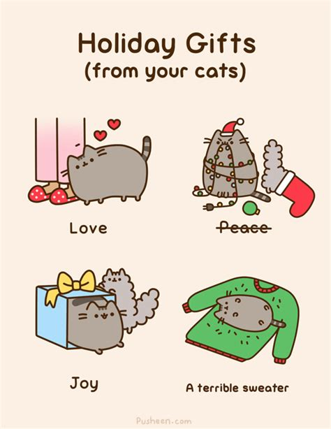 Christmas Memes Tumblr - tastefullyoffensive comic by pusheen jingle all