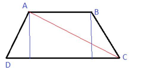 somma angoli interni trapezio calcolare le iezza degli angoli trapezio