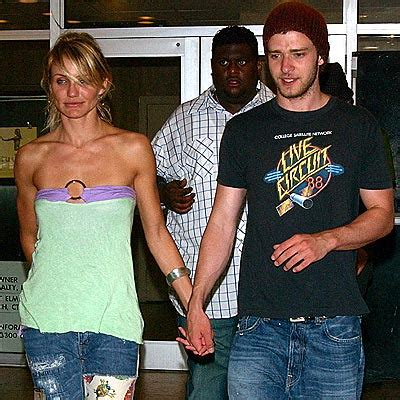 Did Cameron Diaz Flip Out On Justin Timberlake by Couples Will It Last Cameron Diaz Justin