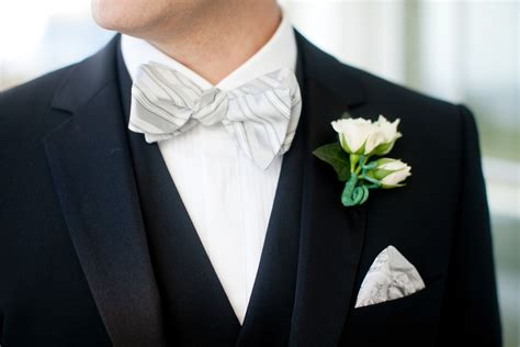 black white green wedding colors black tie groom
