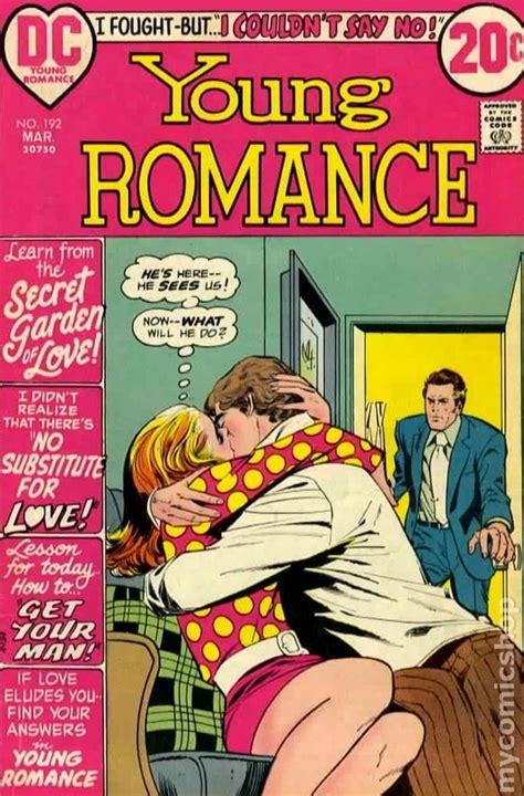 young romance comics   dc comic books